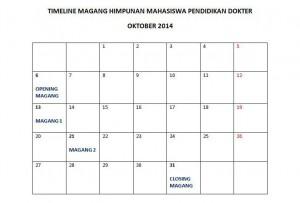 Jadwal Magang